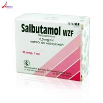 Salbutamol Inj.0,5mg/ml Polfa